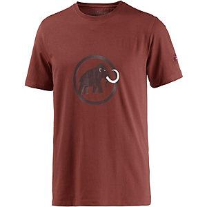 Mammut Logo Printshirt Herren rost