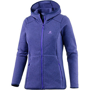 Salomon Bise Strickfleece Damen blau