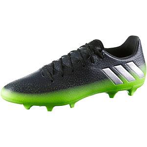 adidas MESSI 16.3 FG Fußballschuhe Herren schwarz/grün