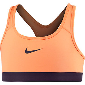 Nike Pro Classic Sport-BH Mädchen apricot