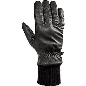 Barts Alban Fingerhandschuhe Herren schwarz