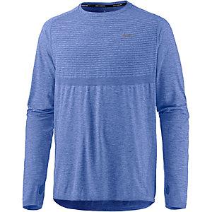 Nike Dri-Fit Knit Laufshirt Herren blau