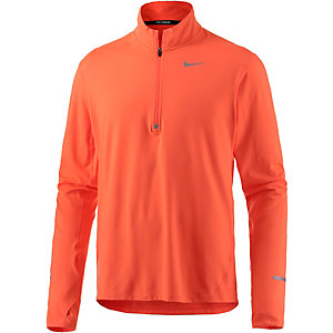 Nike Dri-Fit Element Laufshirt Herren orange