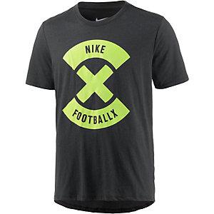 Nike Football X Funktionsshirt Herren schwarz/gelb