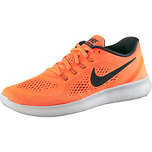 Nike Free Run Laufschuhe Herren orange