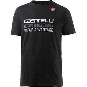 castelli Advantage T-Shirt Herren schwarz/weiß