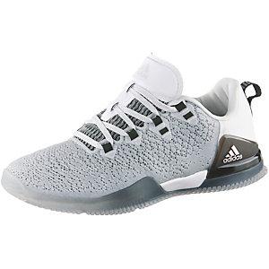adidas Crazy Power TR Fitnessschuhe Damen grau/weiß