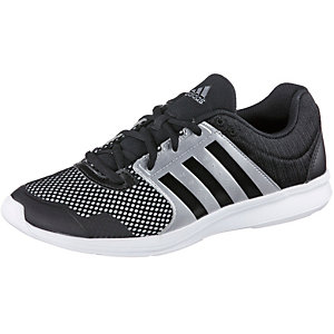 adidas Essential Fun II Fitnessschuhe Damen schwarz/silber
