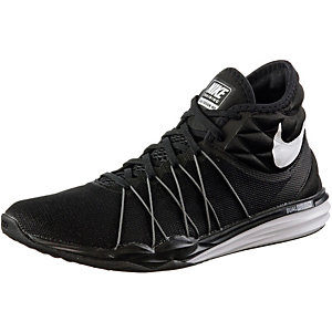 Nike Dual Fusion TR HIT Mid Fitnessschuhe Damen schwarz/weiß
