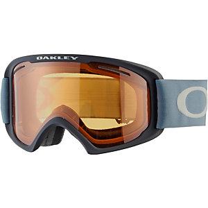 Oakley O2 XL Snowboardbrille black blue/persimmon