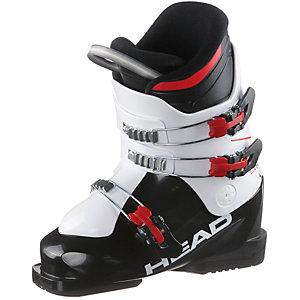 HEAD J3 Skischuhe Kinder schwarz/weiß
