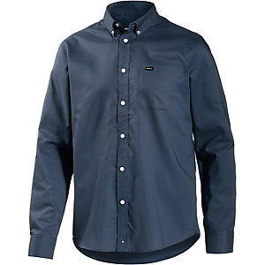 RVCA That'll Do Oxford Langarmhemd Herren blau
