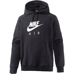 Nike NSW Air Heritage Kapuzenpullover Herren schwarz