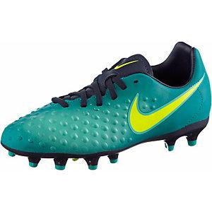 Nike JR MAGISTA OPUS II FG Fußballschuhe Kinder grün/blau