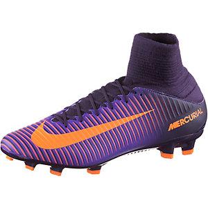 Nike MERCURIAL VELOCE III DF FG Fußballschuhe Herren lila/orange