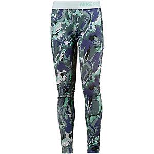 Nike Hyperwarm Tights Mädchen grau/blau