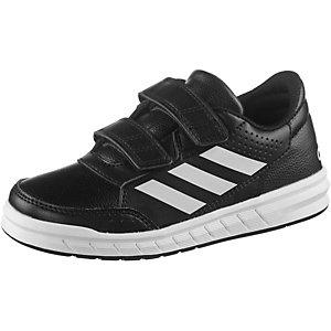 adidas AltaSport Hallenschuhe Kinder schwarz/weiß