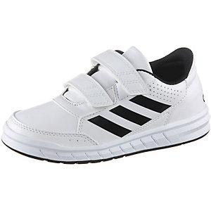 adidas AltaSport Hallenschuhe Kinder weiß/schwarz
