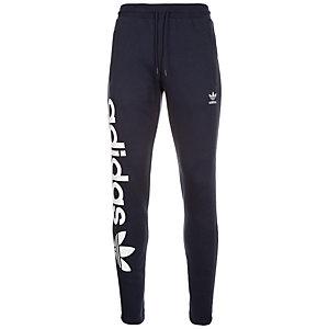 adidas Trefoil Fleece Trainingshose Herren dunkelblau / weiß