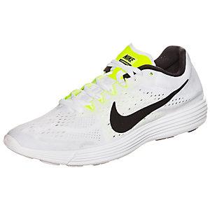 Nike Lunaracer 4 Laufschuhe weiß / neongelb