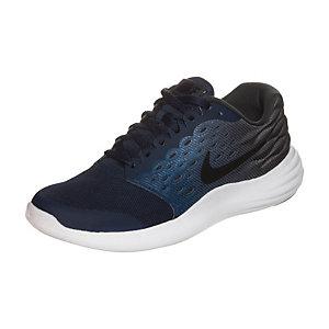 Nike Lunarstelos Laufschuhe Kinder blau / grau / weiß