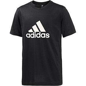 adidas Funktionsshirt Jungen schwarz