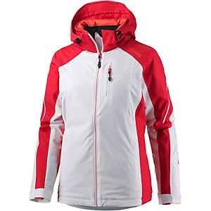 Maier Sports Silver Star Skijacke Damen weiß/rot