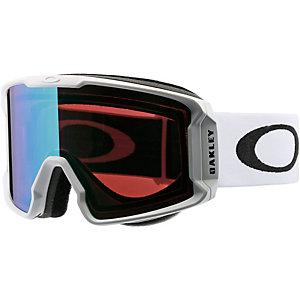 Oakley LINE MINER Snowboardbrille matte white/prizm jade iridium