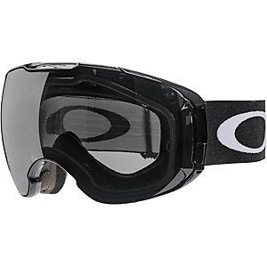Oakley AIRBRAKE XL Snowboardbrille jet black/dark grey & persimmon