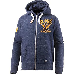 Superdry Sweatjacke Herren navy/gelb