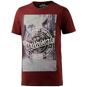 Jack & Jones T-Shirt Herren rot