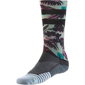 Stance HIDDEN PALMS Sneakersocken Herren GREEN