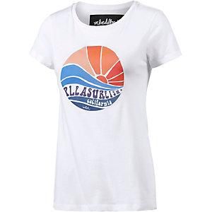 WLD Seventies Printshirt Damen weiß