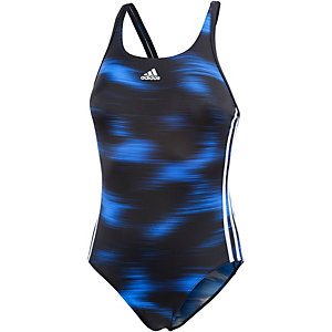 adidas Badeanzug Damen schwarz/blau