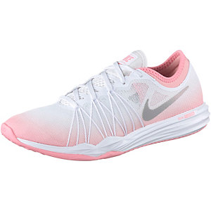Nike Dual Fusion Trainer HIT Fitnessschuhe Damen weiß/rosa