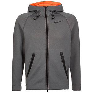 Nike Therma Sphere Max Trainingsjacke Herren grau / orange