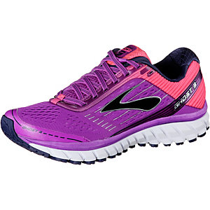 Brooks Ghost 9 Laufschuhe Damen lila/pink