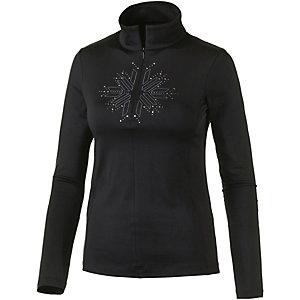 CMP Layerlangarmshirt Damen schwarz