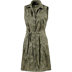 Jack Wolfskin Sonora Jungle Kurzarmkleid Damen oliv/allover