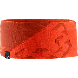 Dynafit Leopard Logo Stirnband orange