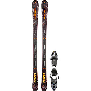 HEAD Supreme Instinct All-Mountain Ski schwarz/orange