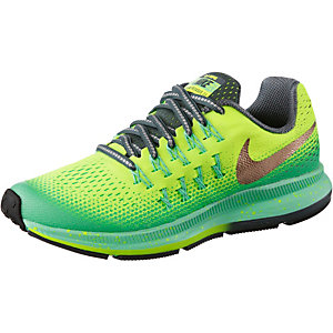 Nike Zoom Pegasus Laufschuhe Kinder mint/gelb