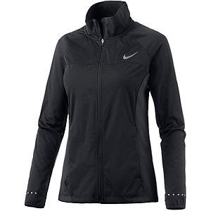 Nike Shield Laufjacke Damen schwarz