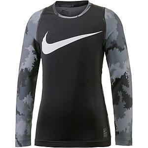 Nike Funktionsshirt Jungen schwarz