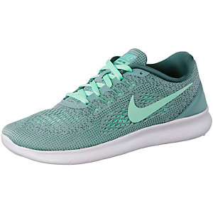 Nike Free Run Laufschuhe Damen mint