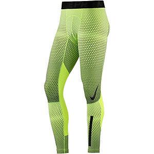 Nike Pro Hyperwarm Tights Herren gelb