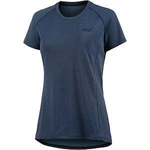 Jack Wolfskin Drynetic Athletic Funktionsshirt Damen blau