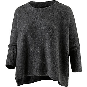Only Strickpullover Damen anthrazit melange