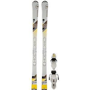 Rossignol Unique 4 W All-Mountain Ski Damen weiß/gelb