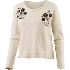 Only Sweatshirt Damen beige